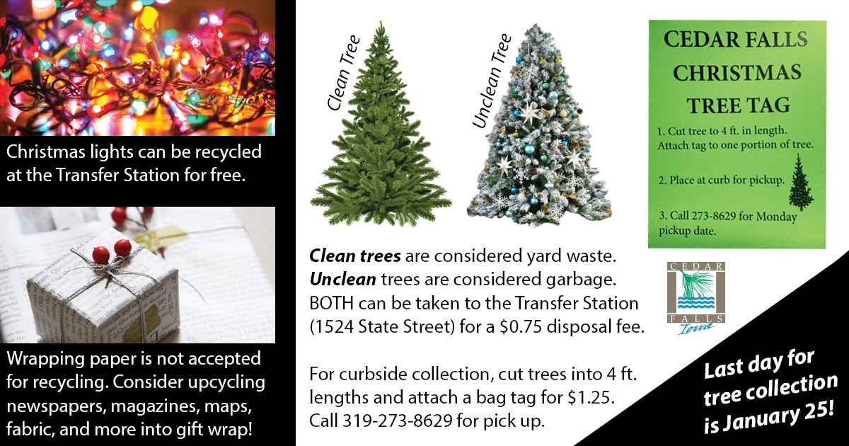 Christmas recycling 2020