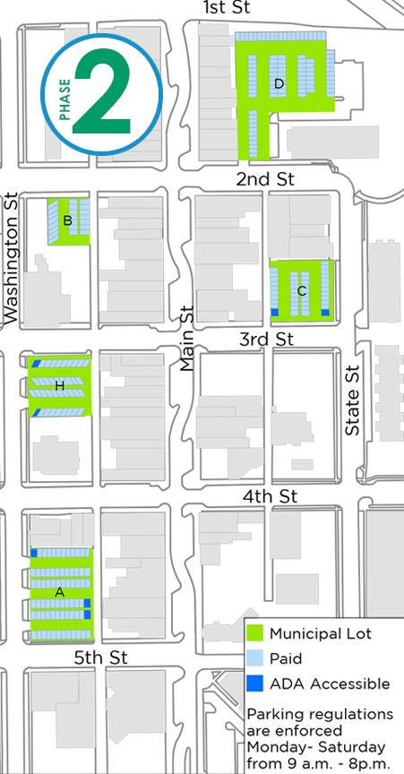 Phase-2 Fall 2019 Downtown Parking image link