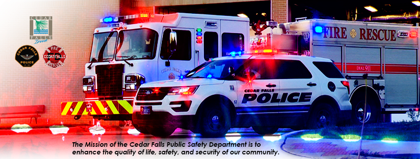 Click to view Public Safety Services on the city website