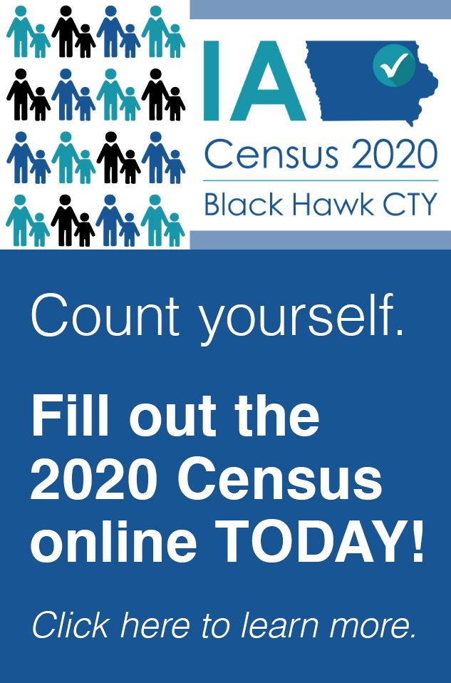 Fill out the Census online today!