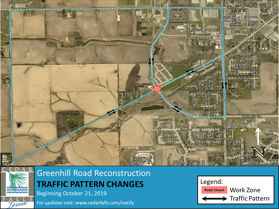 Greenhill Road-Traffic Pattern Changes
