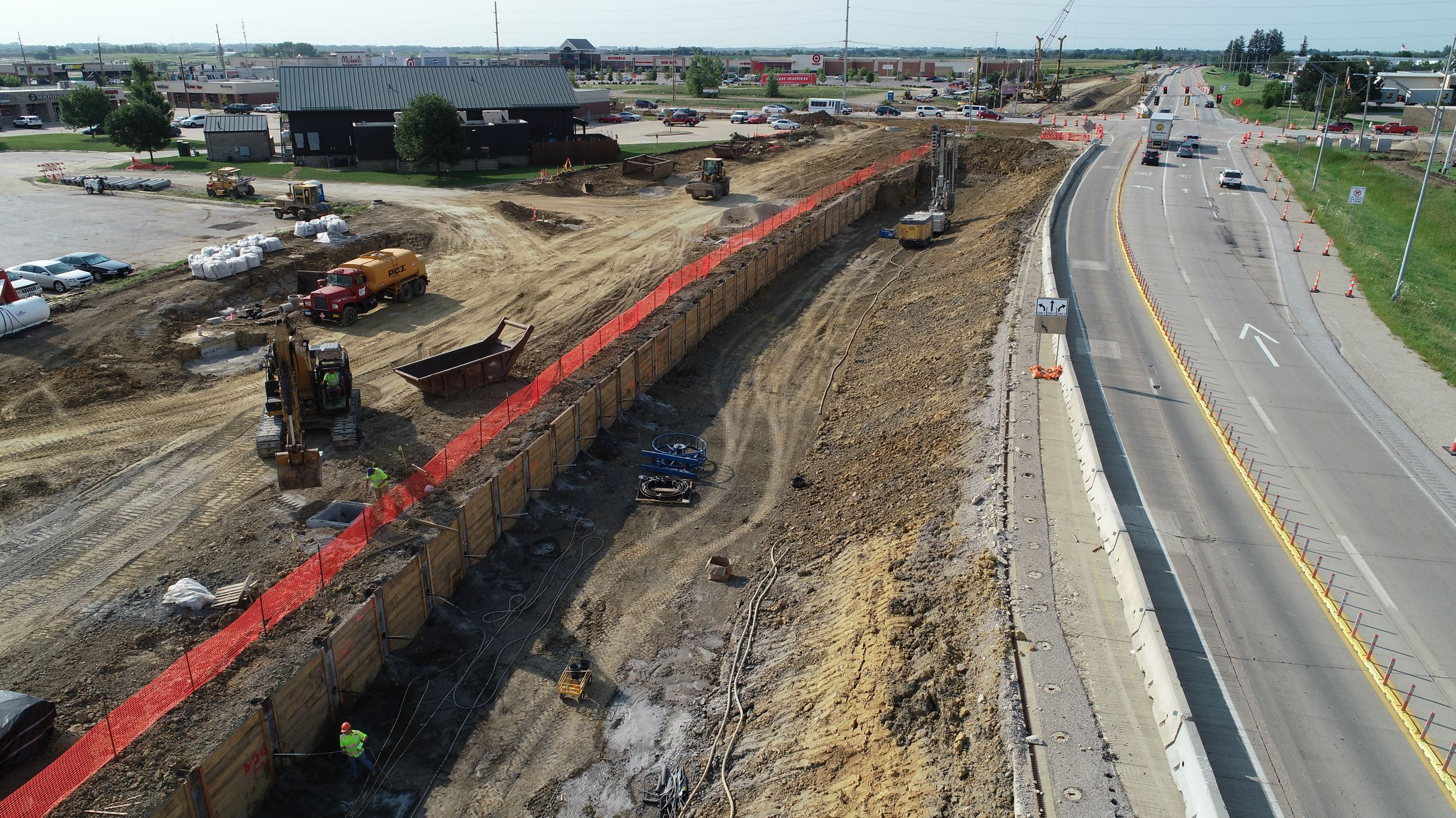 image of highway 58 road construction